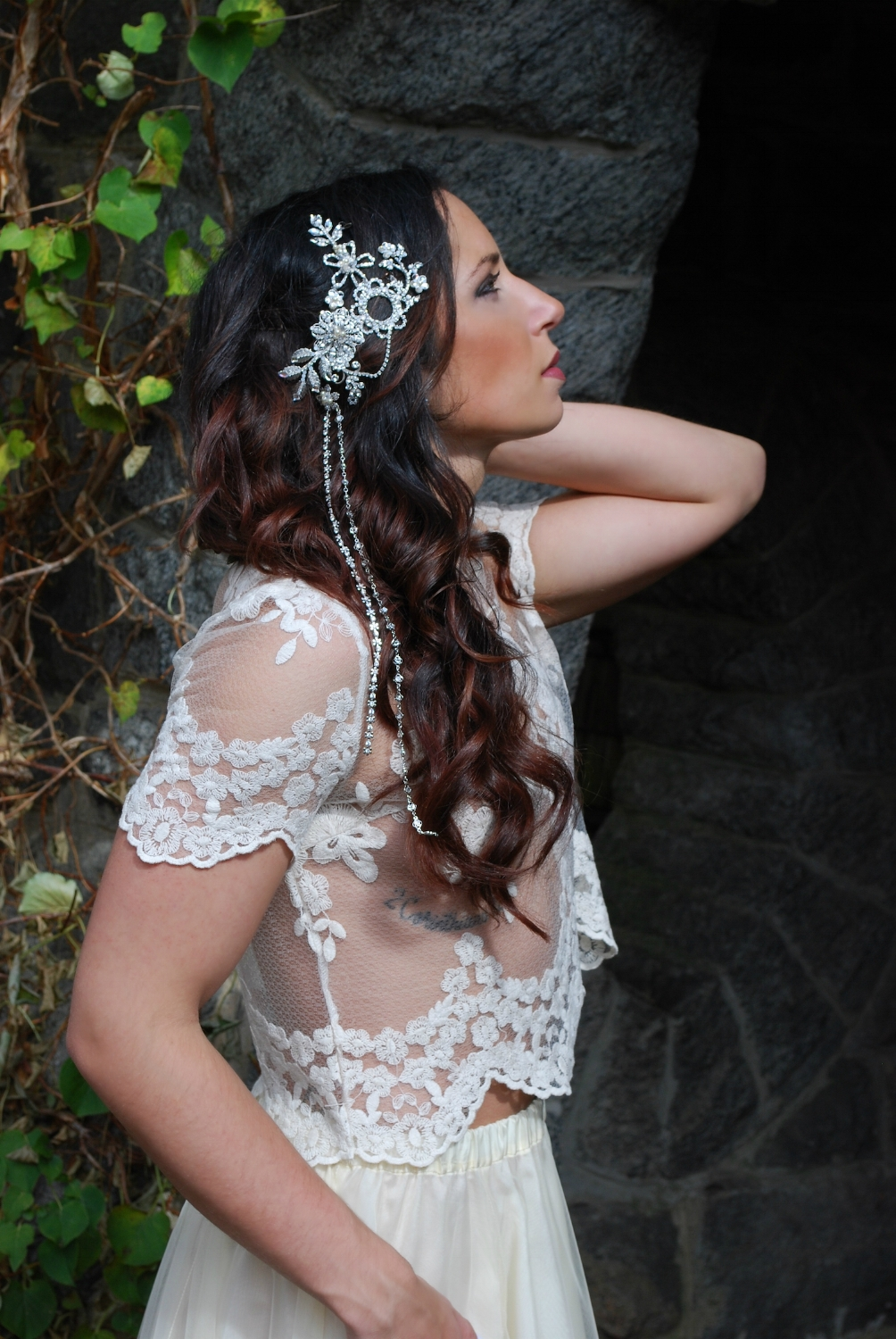"""Codie"" Bridal Headpiece"