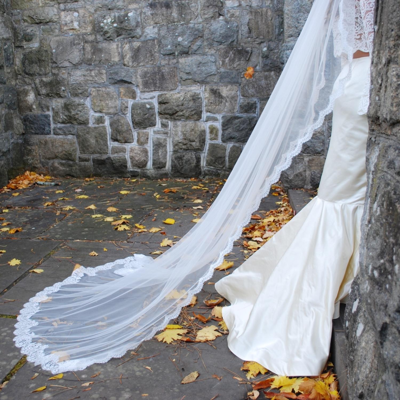 """Teresa"" Bridal Veil"