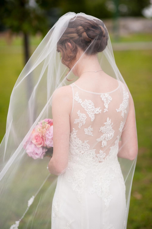 """""""Maureen"""" Bridal Veil"""