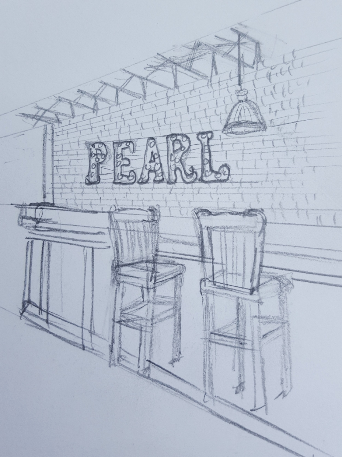 Pearl in Richmond was where they had their first date.