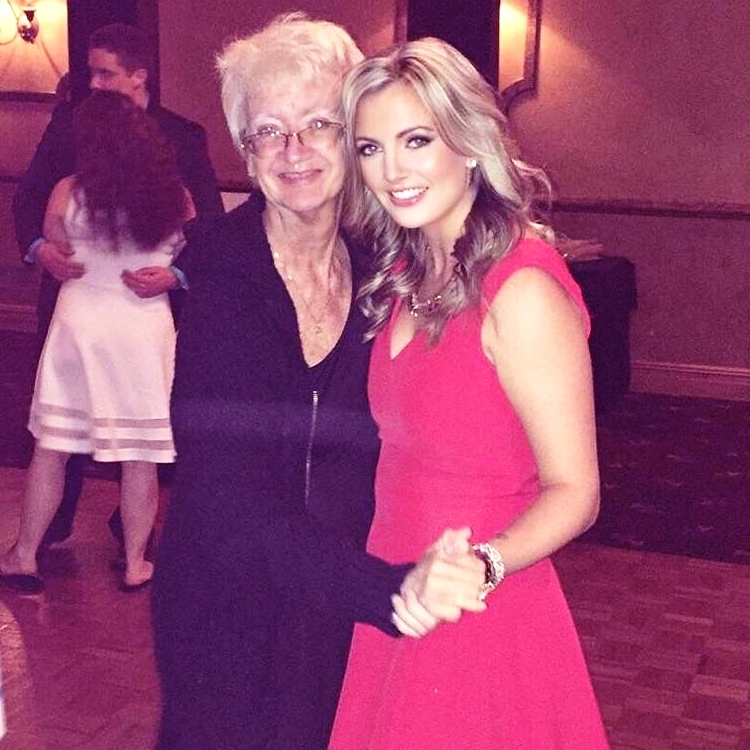 Shannon and her mom dancing at a family wedding in October 2016