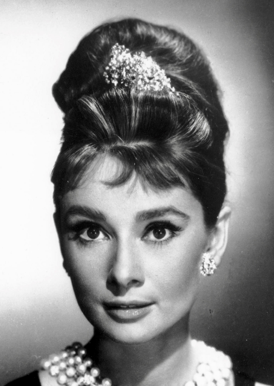 Audrey Hepburn pictured as Holly Golightly in the 1961 movie  Breakfast at Tiffany's