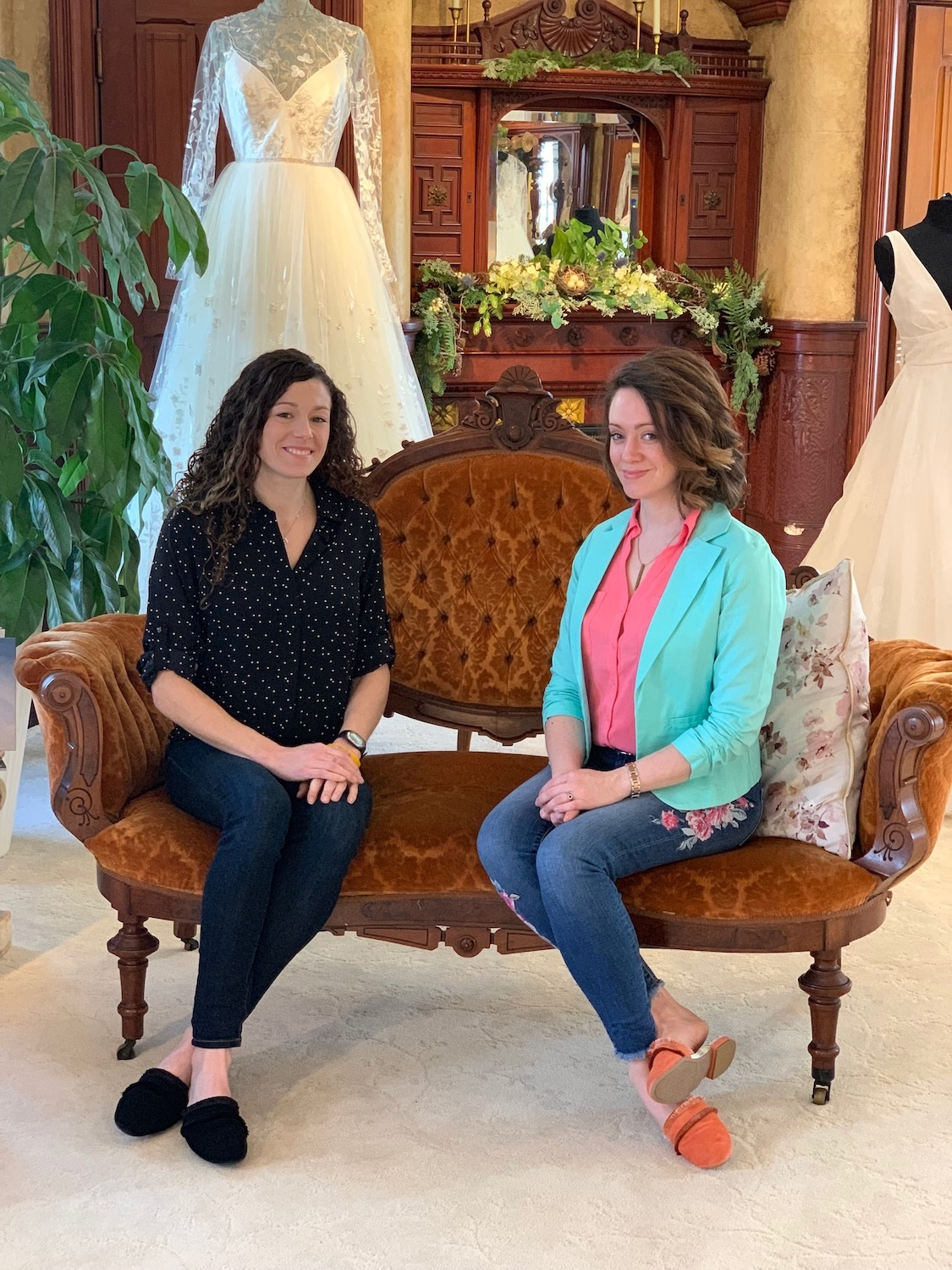 Something Bleu owners, Marissa Mackay and Kathryn Metzler, admit that this business venture is something they could never do on their own but knew that it would be wonderful to do together. The strengths they bring with them balance each other out. They are so excited to take the legacy that Denise built and bring it to a whole new generation.