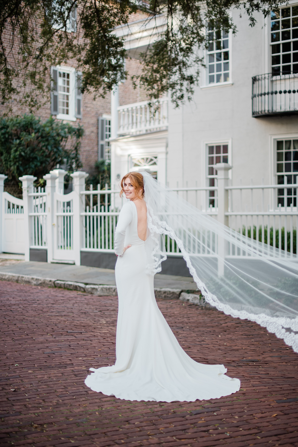 This is Kelsey's favorite veil photo. It is easy to understand why.