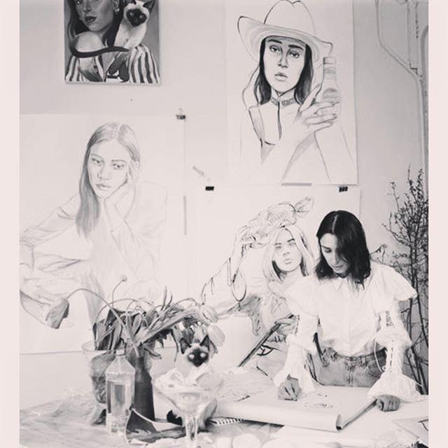 #ChloeWise in Studio