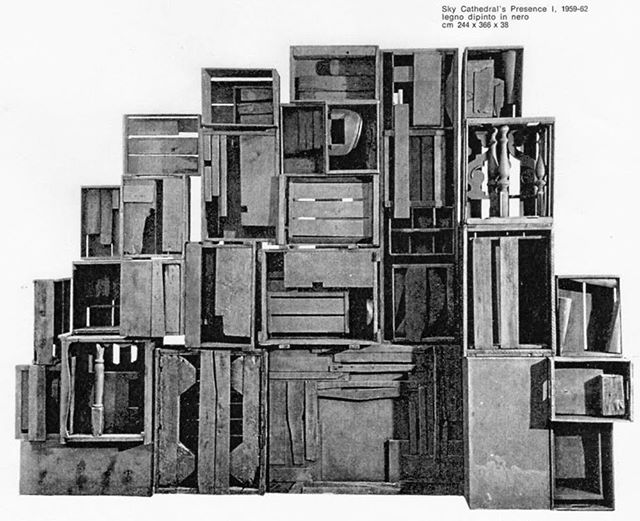 Sky Cathedral's Presence I - #louisenevelson