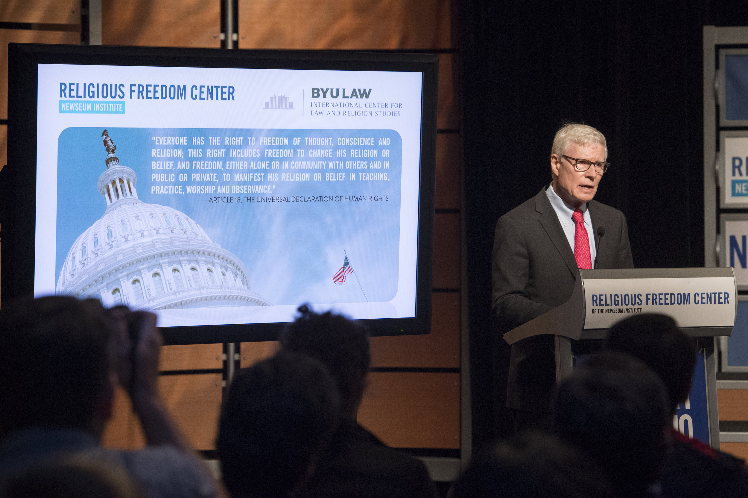 Charles C. Haynes, Vice President, Newseum Institute & Founding Director, Religious Freedom Center
