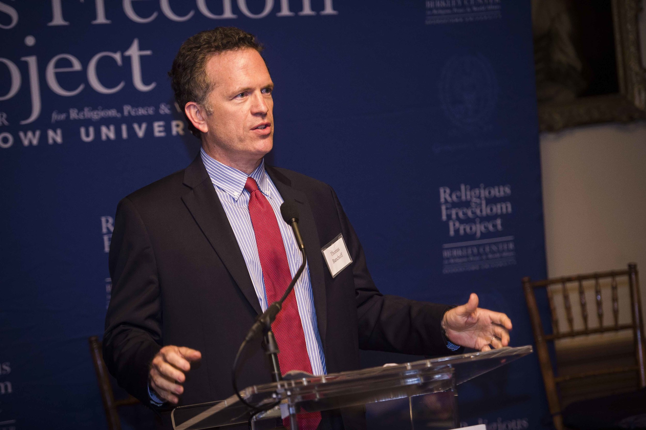 Thomas Banchoff, Director, Berkley Center for Religion, Peace, and World Affairs