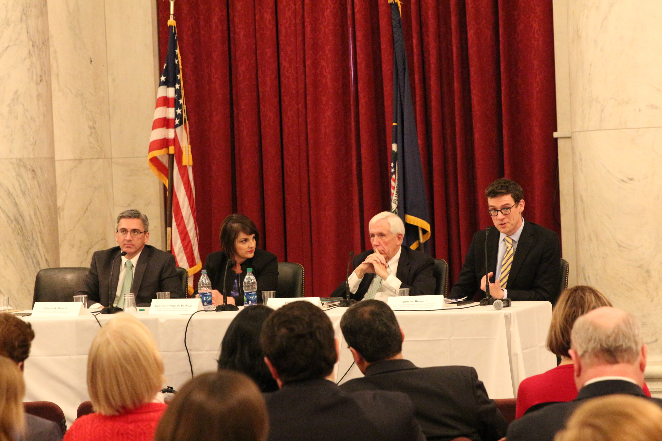 Panelists discussed the next steps to be taken for strengthening religious freedom in the new administration.