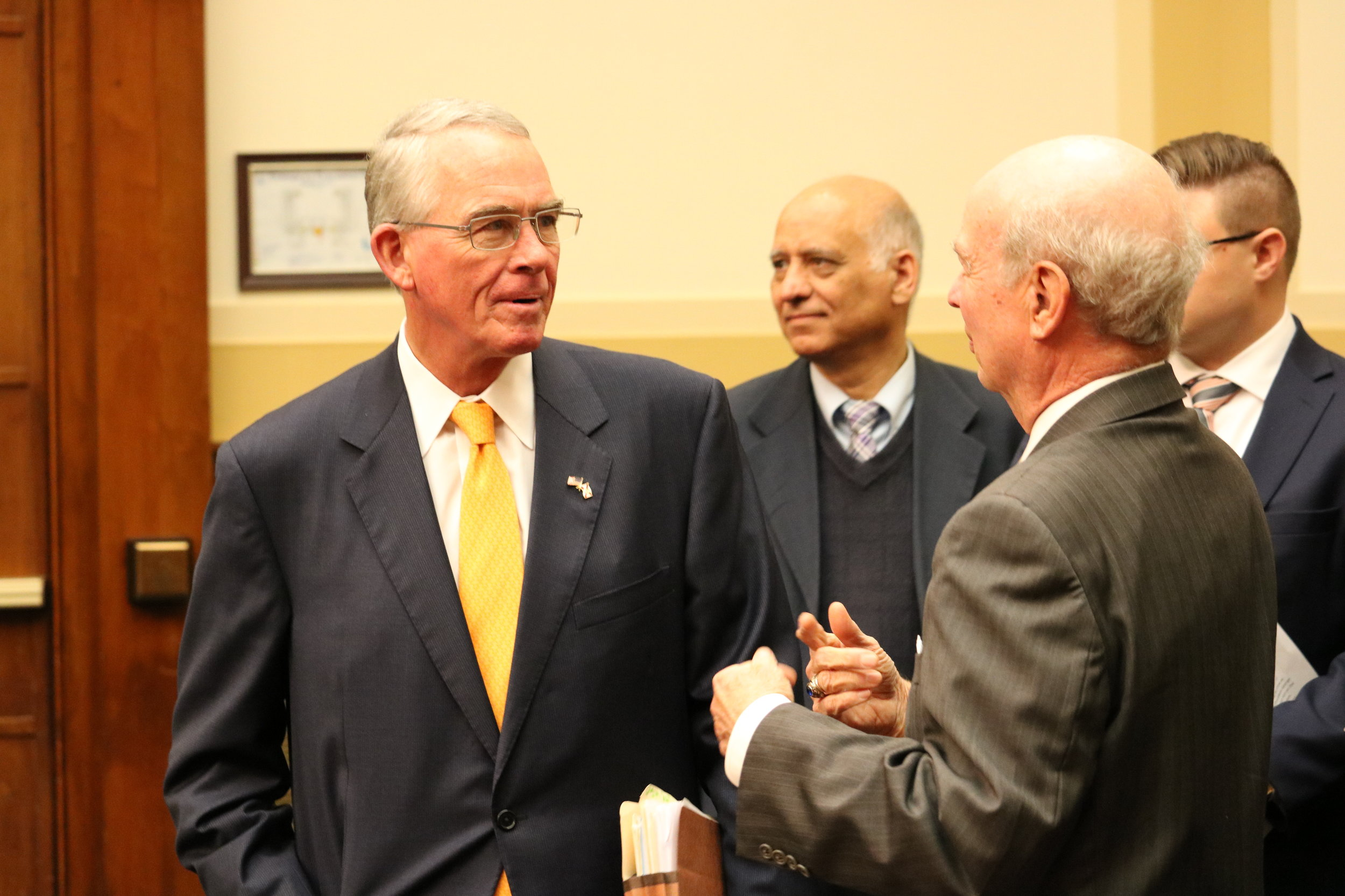 Rep. Francis Rooney (R-FL) and Mark Winter, Chairman, Religious Freedom Institute
