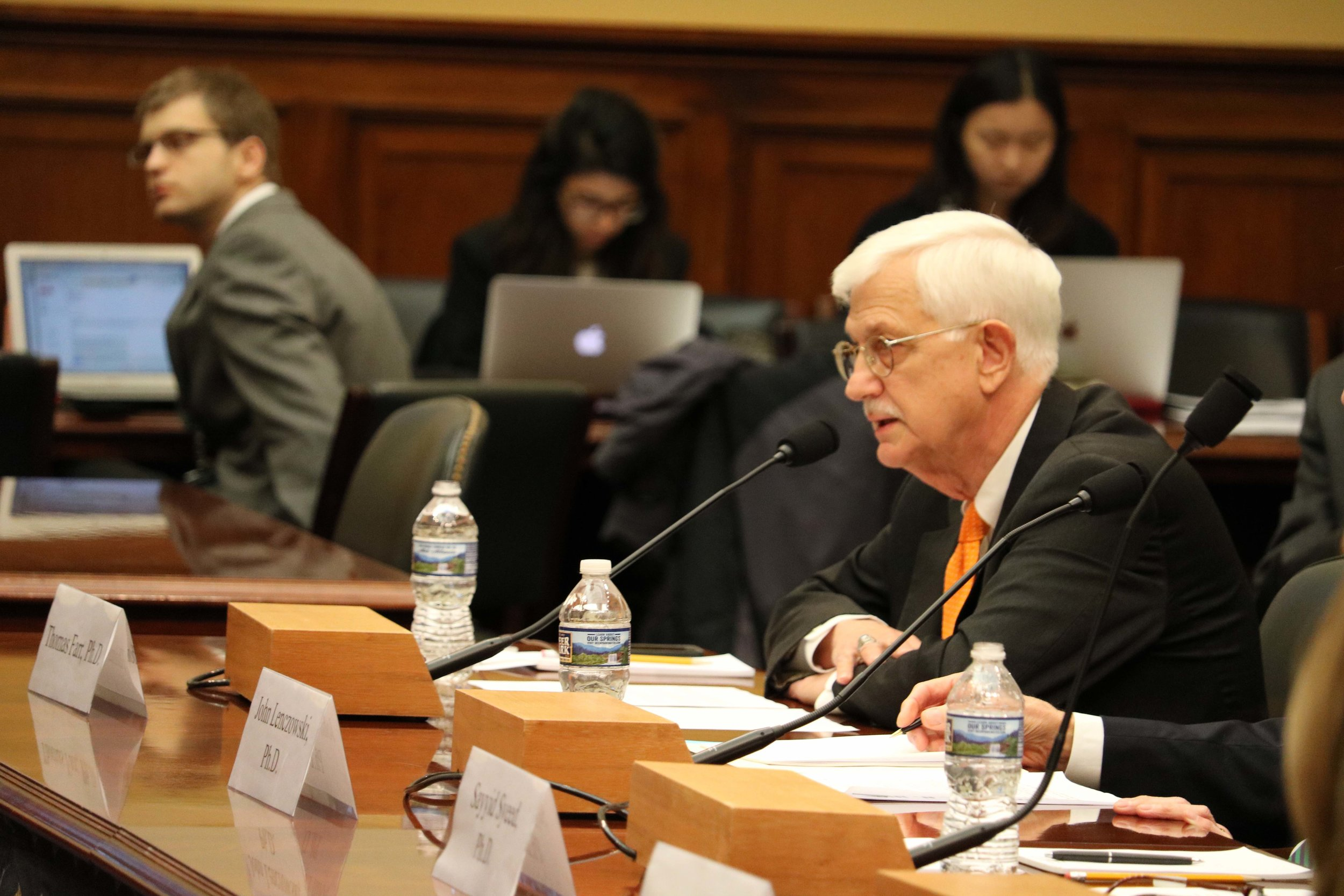 Thomas Farr testifies before the Subcommittee on Africa, Global Health, Global Human Rights, and International Organizations of the House Foreign Affairs Committee, December 6, 2017. Photo: RFI/Jeremy Barker