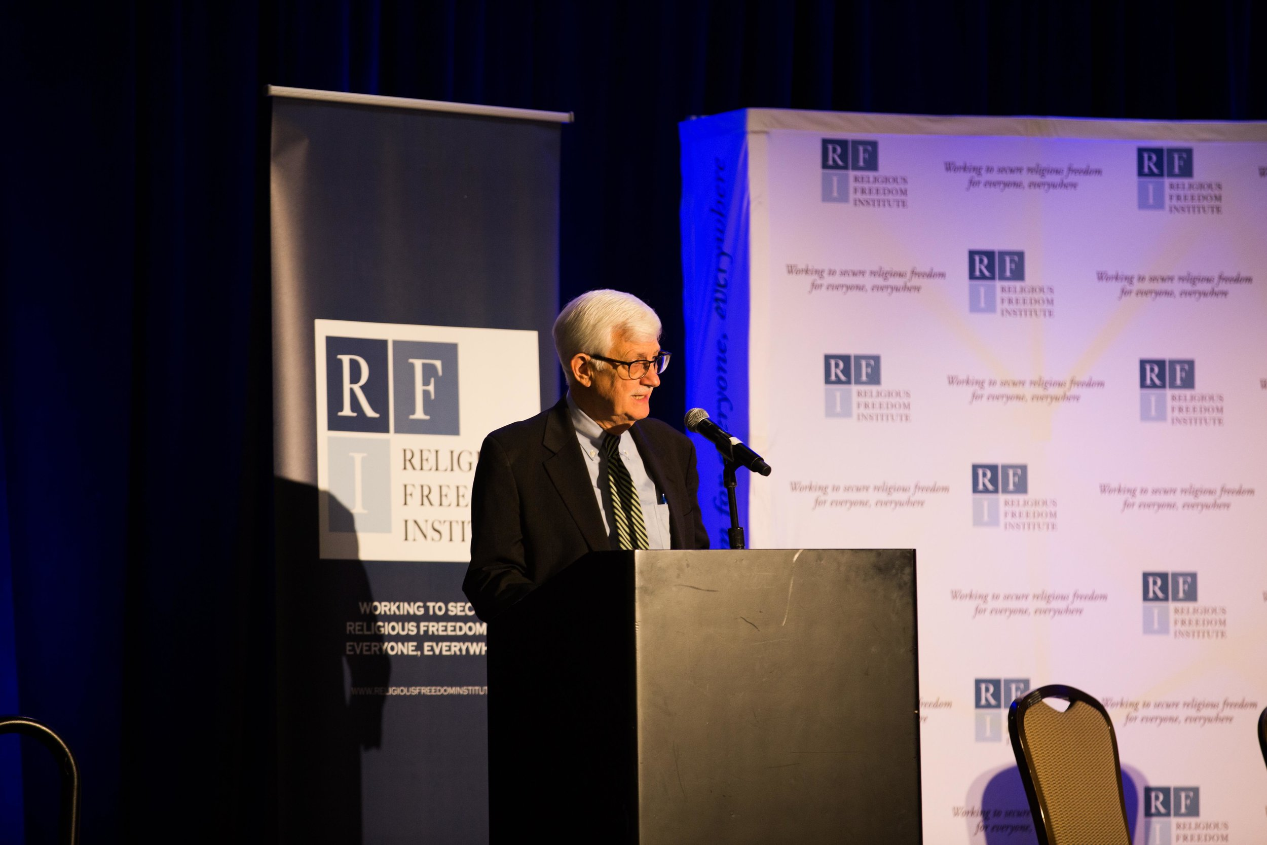 Thomas Farr, President, Religious Freedom Institute gives opening remarks. Photo: RFI/Margaret Wroblewski