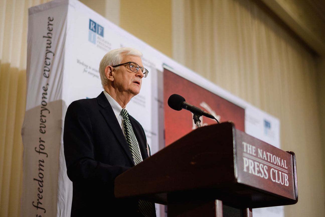 Tom Farr, President, Religious Freedom Institute, delivers opening remarks.  Photo: RFI/Nathan Mitchell