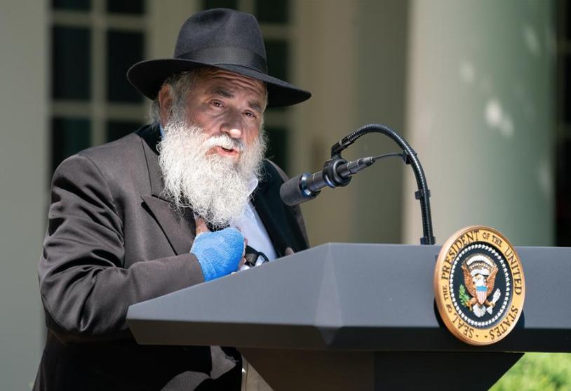 Rabbi Yisroel Goldstein, Chabad Jewish Community Center of Poway, California