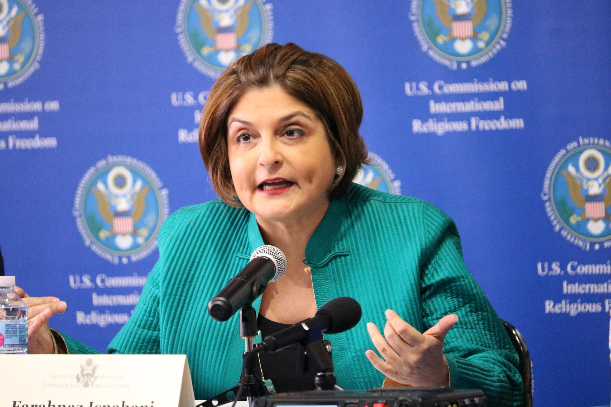 "Farahnaz Ispahani, Panelist - ""Beyond Legislation: Transnational Strategies for Countering Religious Persecution,"" July 15, 2019"