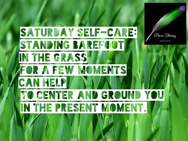 Happy holiday weekend! Stay safe, grounded in the present, and have fun! #selfcaresaturday #grounding  #southaustin #counseling #traumarecovery