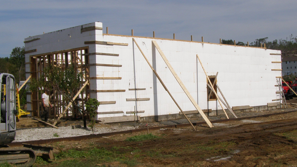 Insulated Concrete Form Structures