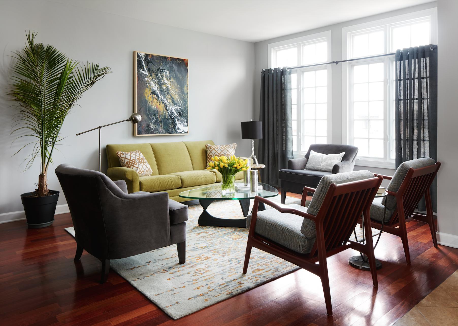 Copy of Living Room - Interior Design - Art Curation by Paula Interiors