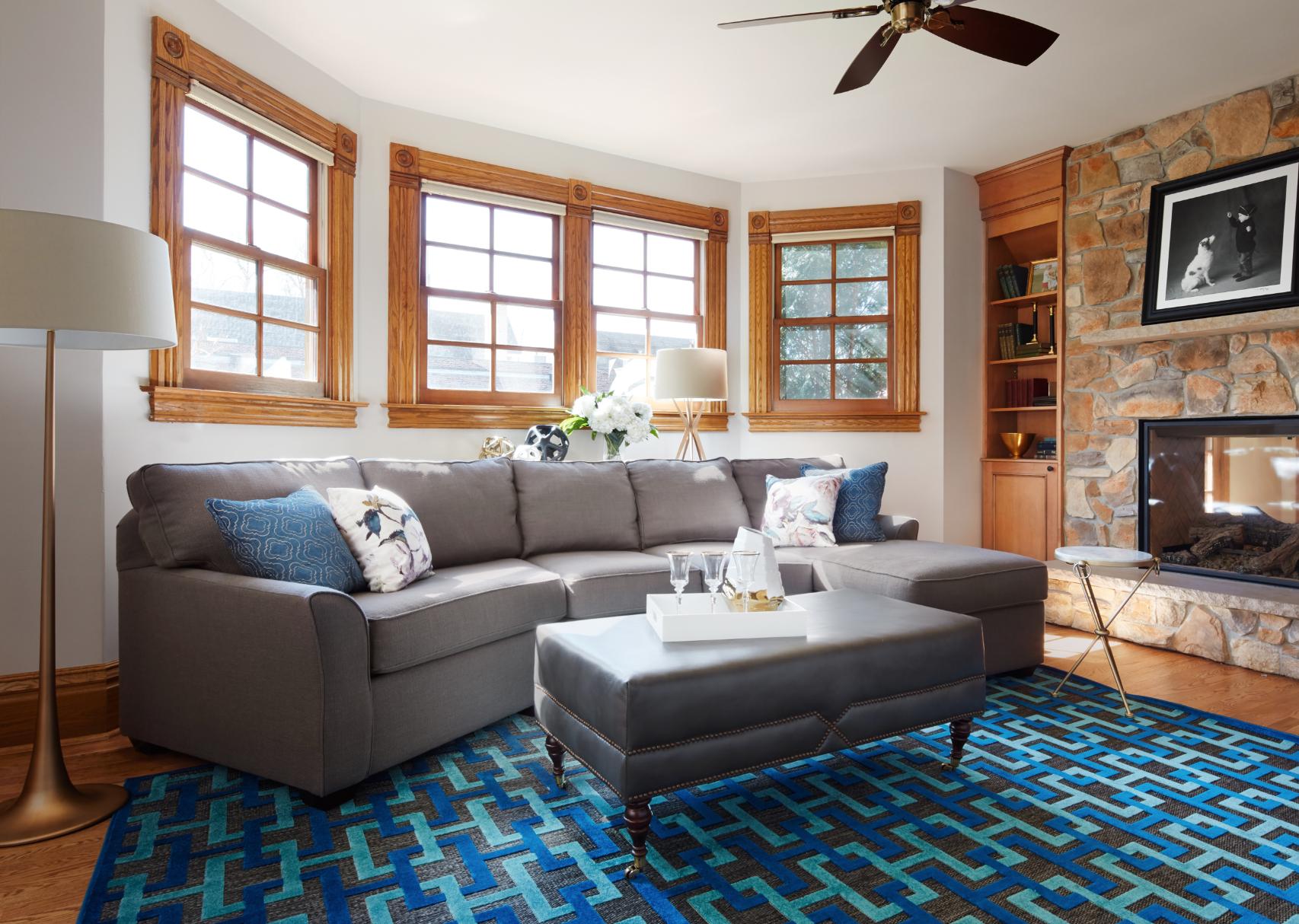 Family Room - Interior Design  by Paula Interiors