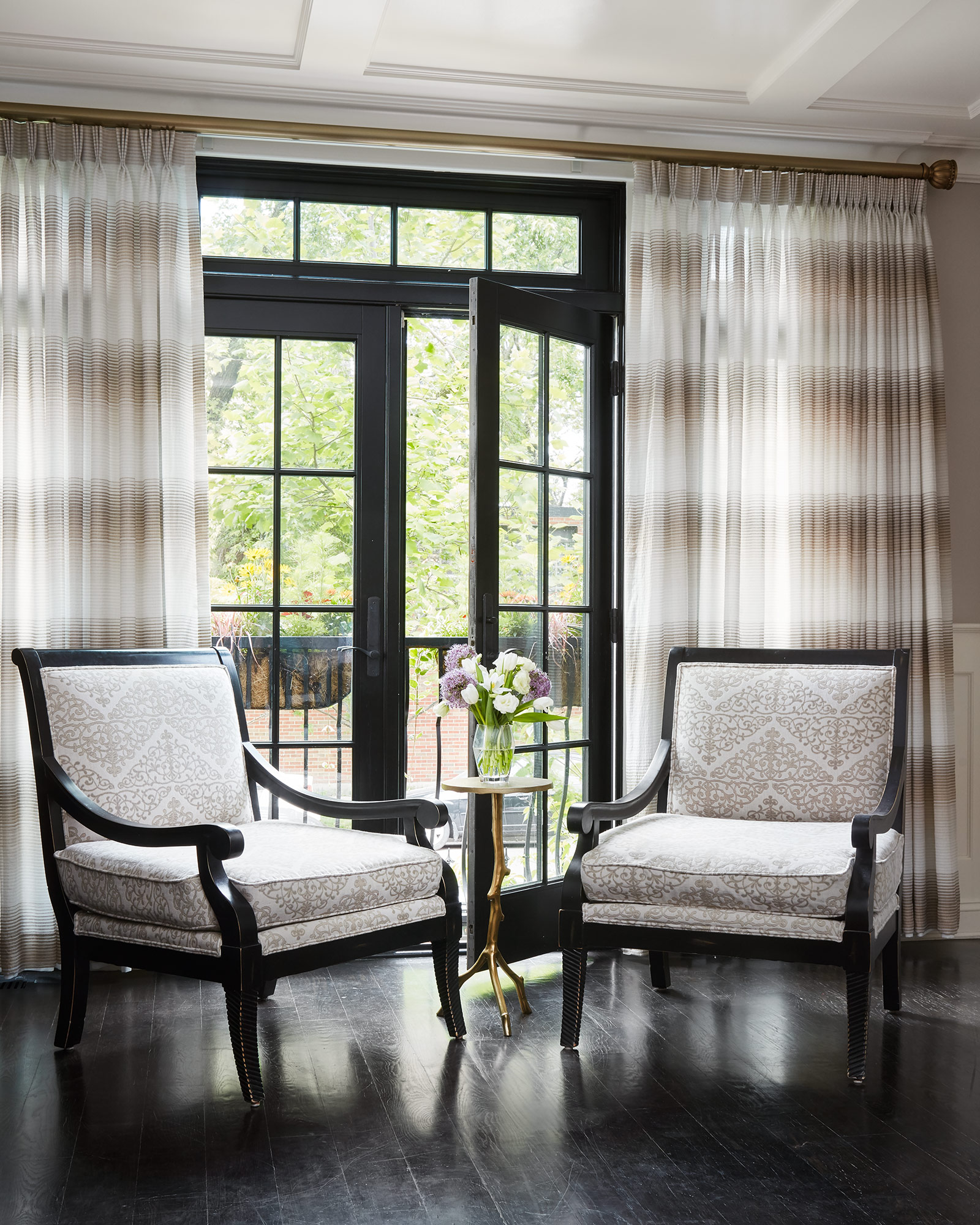 Window Treatments - Interior Design by Paula Interiors
