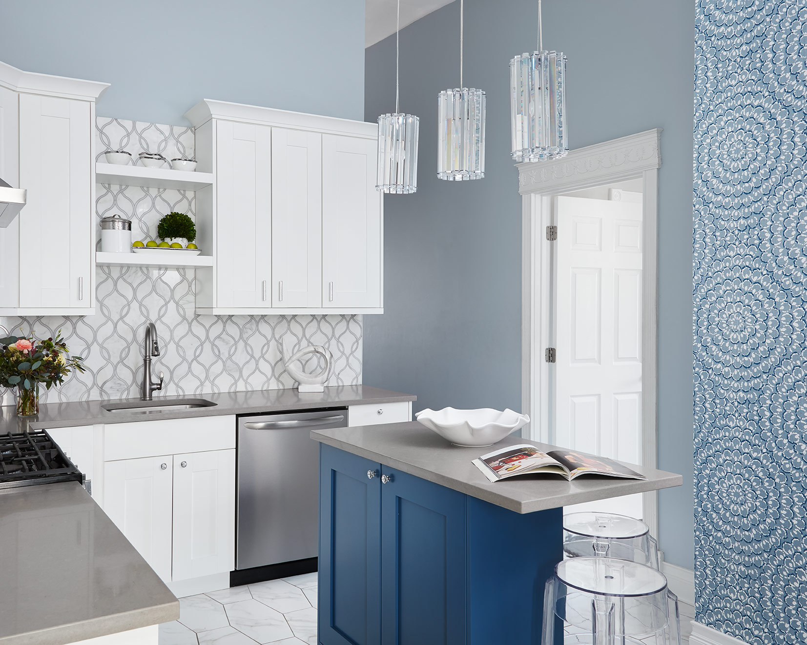Kitchen - Interior Design by Paula Interiors