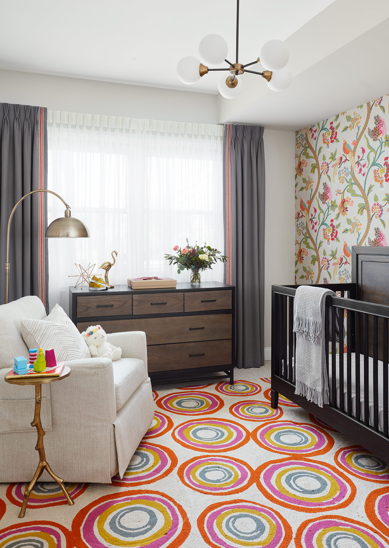 Nursery - Interior Design - Art Curation  by Paula Interiors