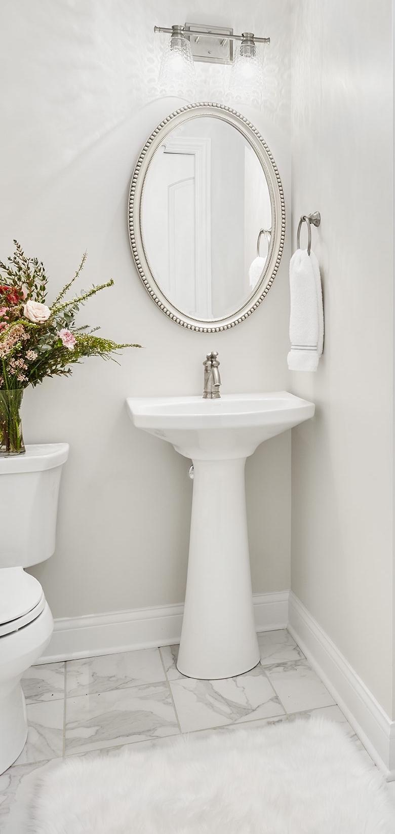 Neutral bathroom. Paula Interior Project