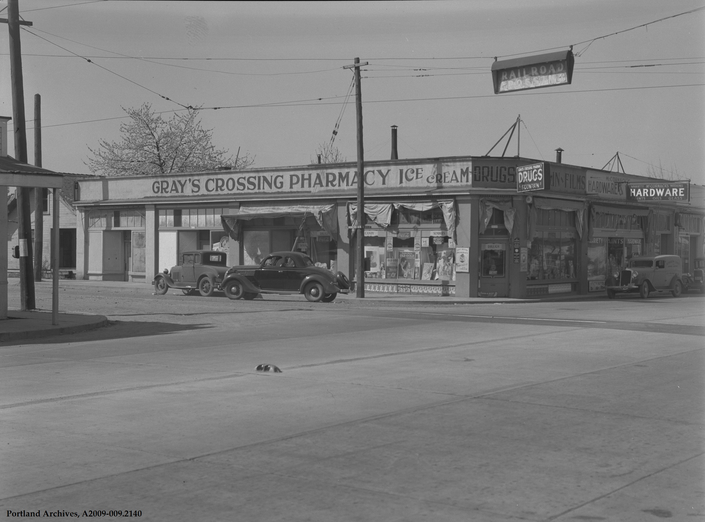 SE 92nd and Foster, 1930s