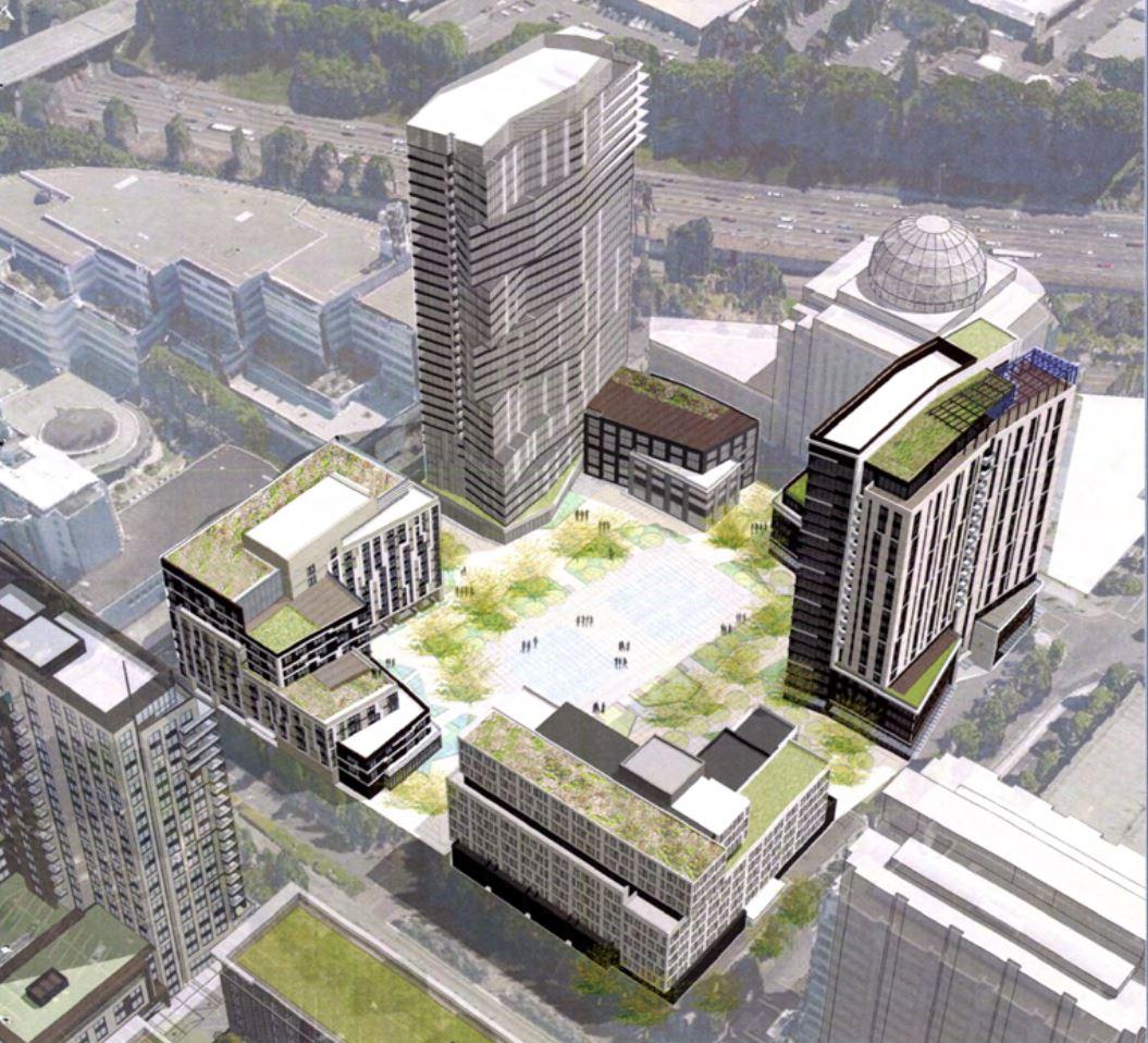 Rendering for proposed Lloyd Center development.