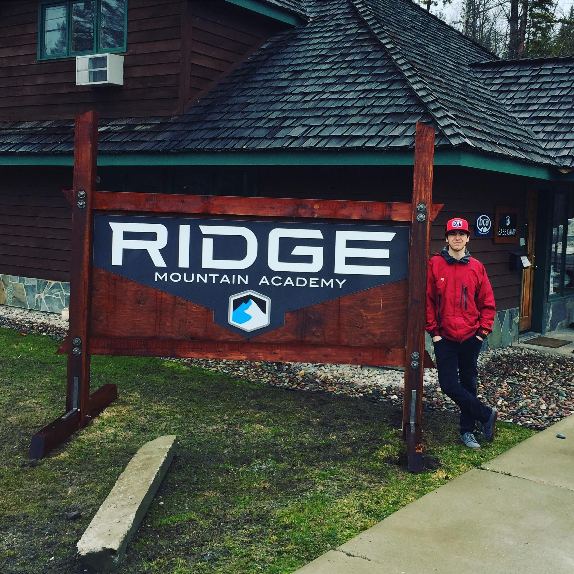 Henry at Ridge Mountain Academy