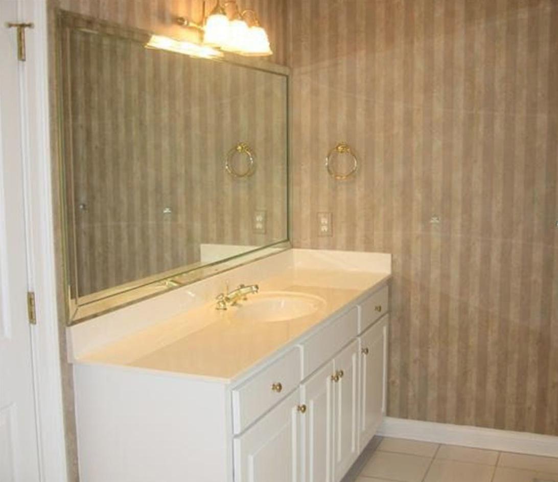 Before: Master Bathroom
