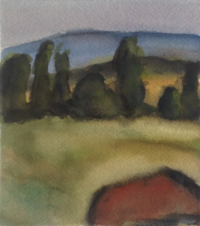 TICA'S FARM 1992, 5 x 4.5 inches © 2016, Michael Kirk all rights reserved