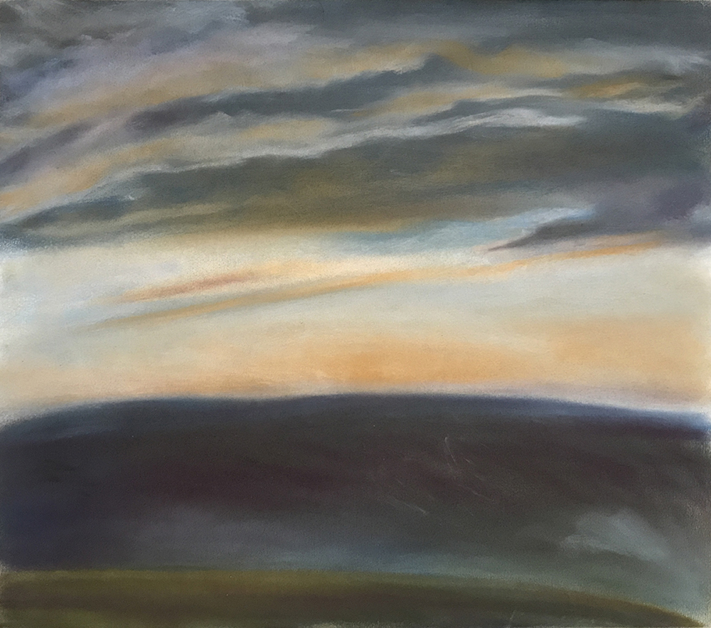 PASSING STORM 1997, 22 x 26 inches © 2016, Michael Kirk all rights reserved