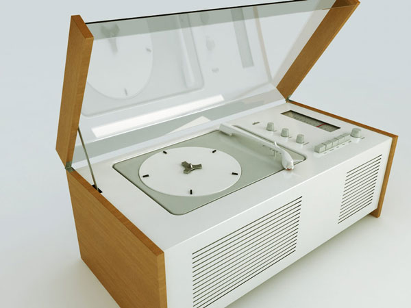"SK4-SK6 Phonographs, 1956, ""Snow White's Coffin"""