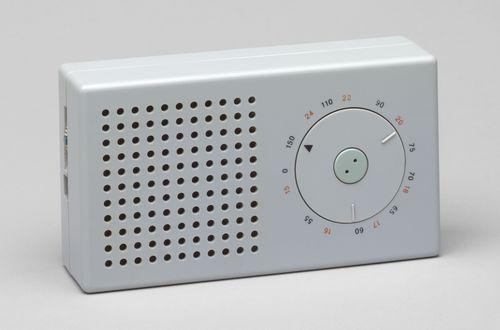 T3 Pocket transistor radio, 1958; Designed by Dieter Rams