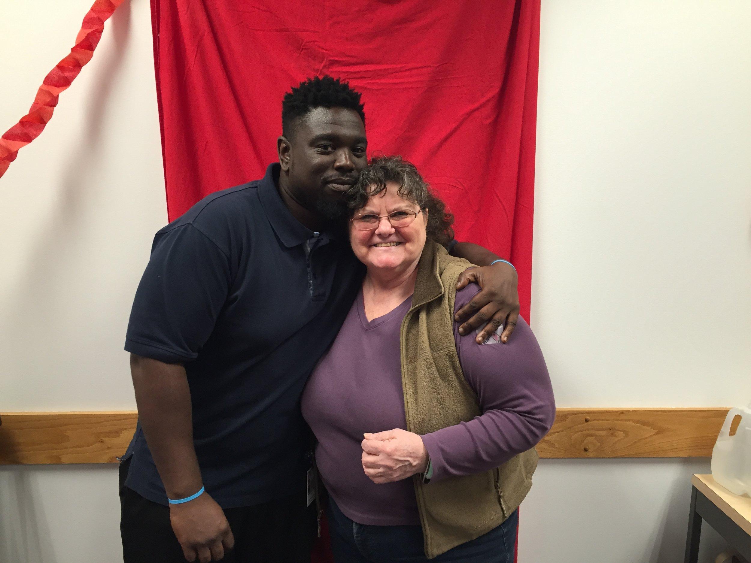 SHARE Executive Board Member Jameal Jackson & SHARE Rep Belinda O'Brien