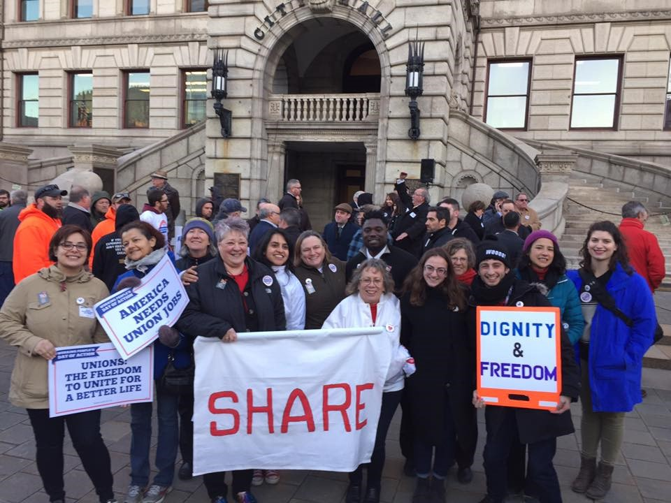 SHARE at Worcester City Hall