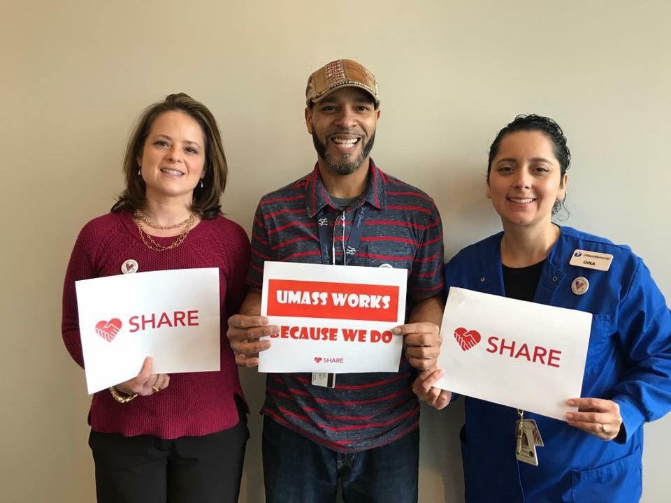 SHARE Hospital and SHARE-UMMS members together at the University Campus