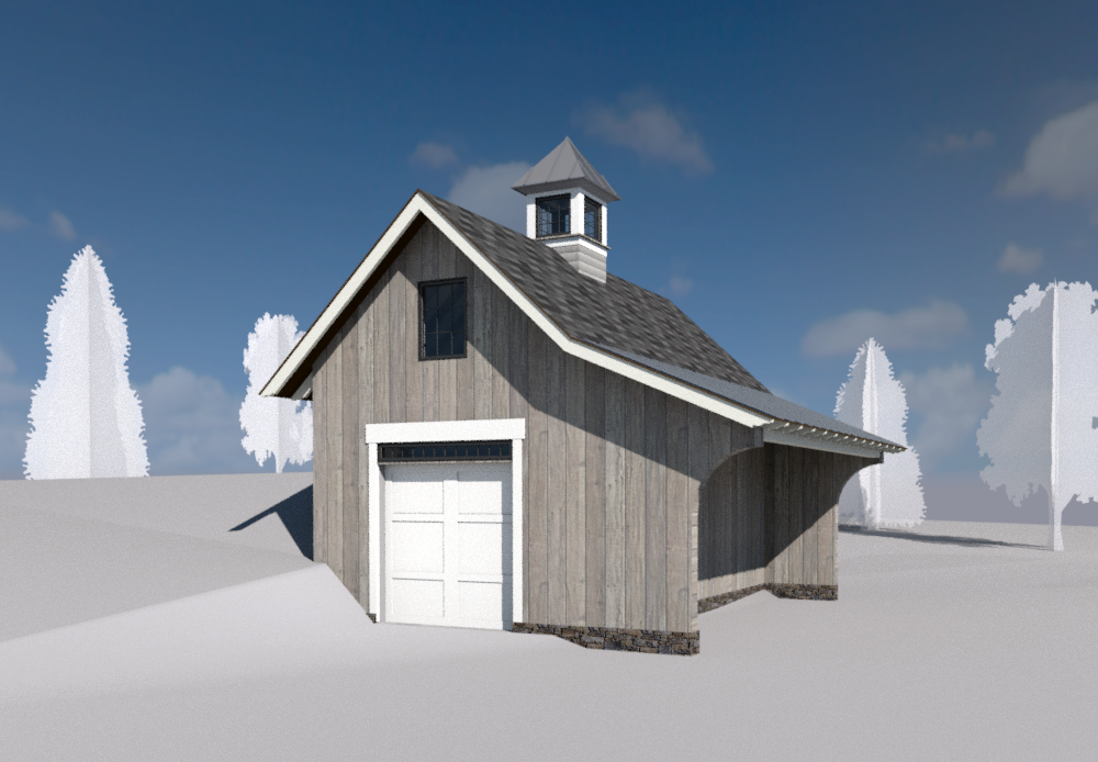 Small Bank Barn