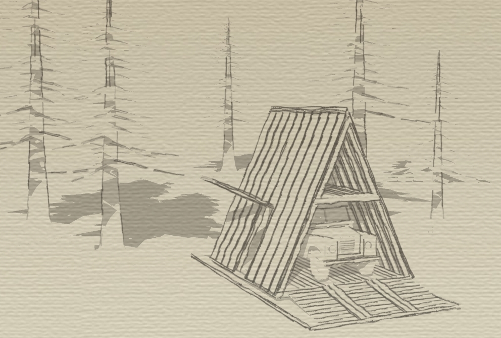 essential A-FRAME - For a classic 1972 Land Roverdrive through ramps. top-hinged door. sleeping loft.