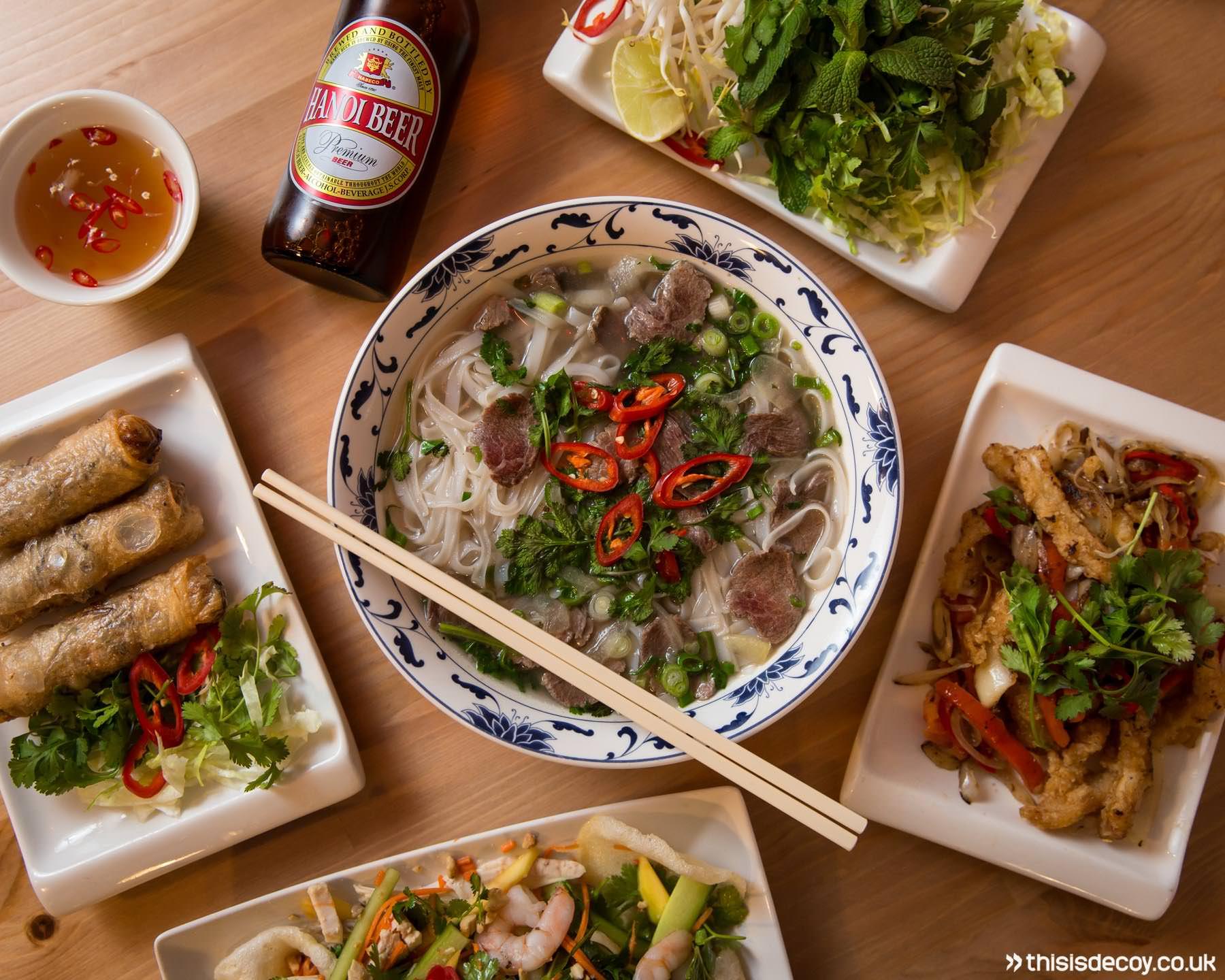 oriental vietnamese menu