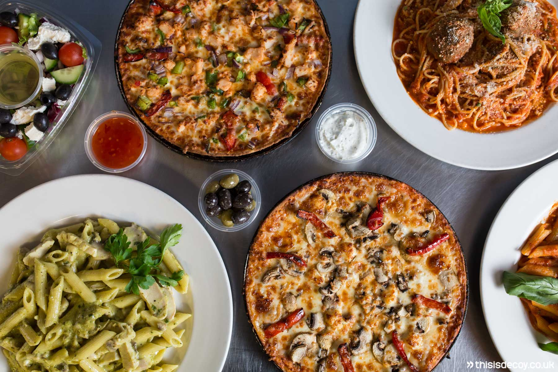 food delivery app shoot
