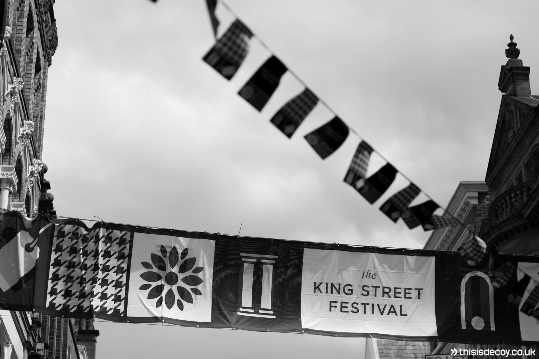 king street festival near deansgate