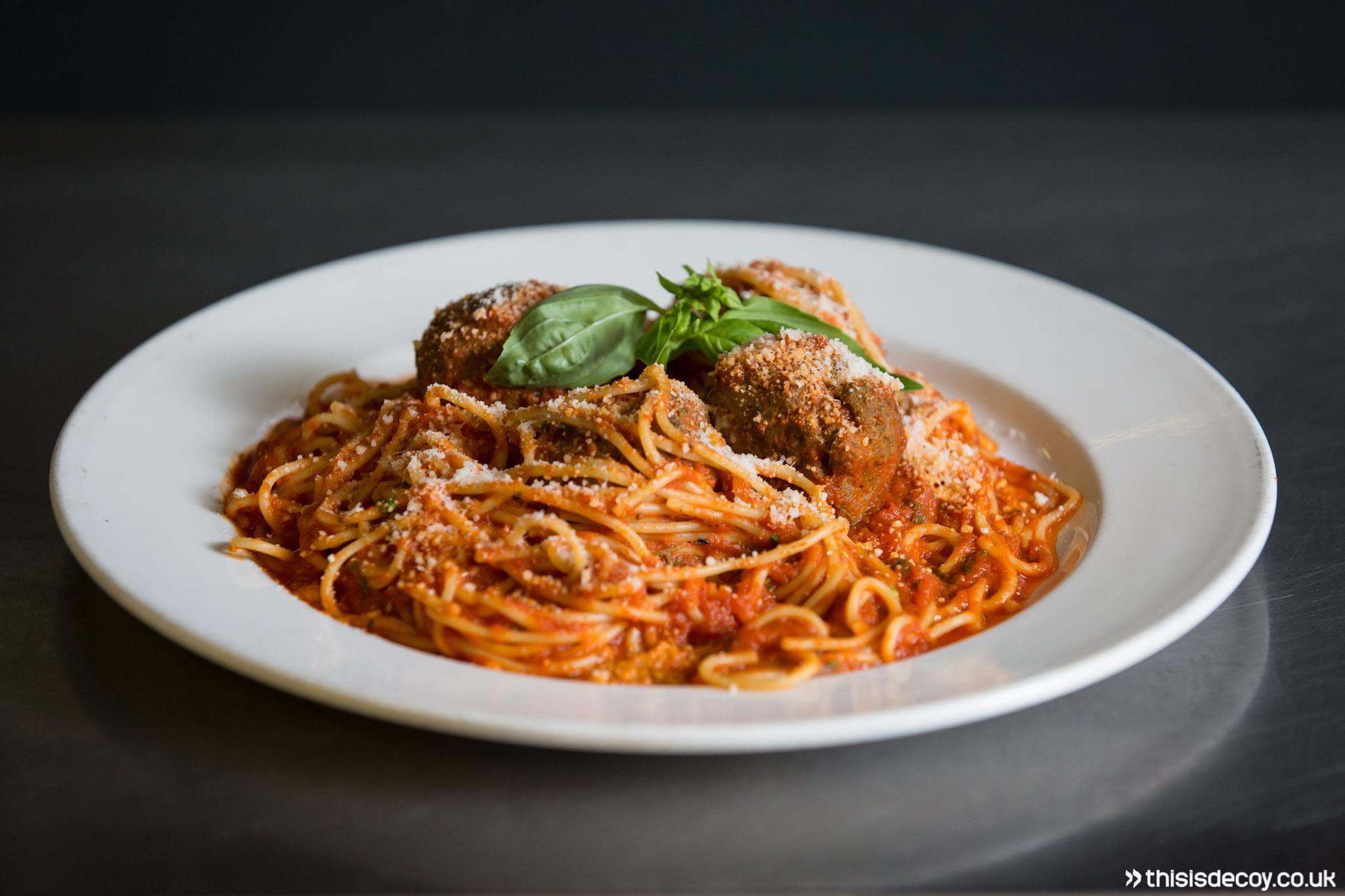 italian dish on counter