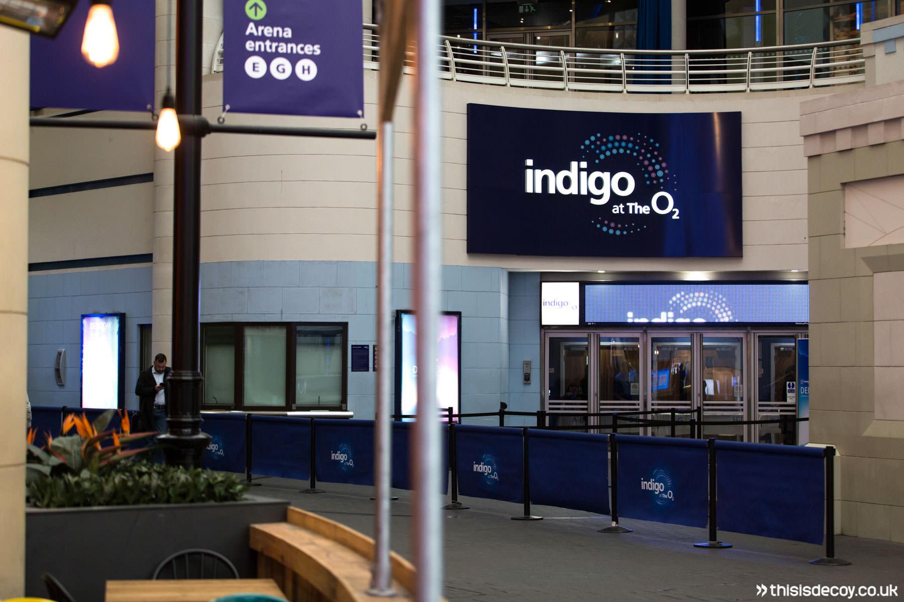 indigo at the o2