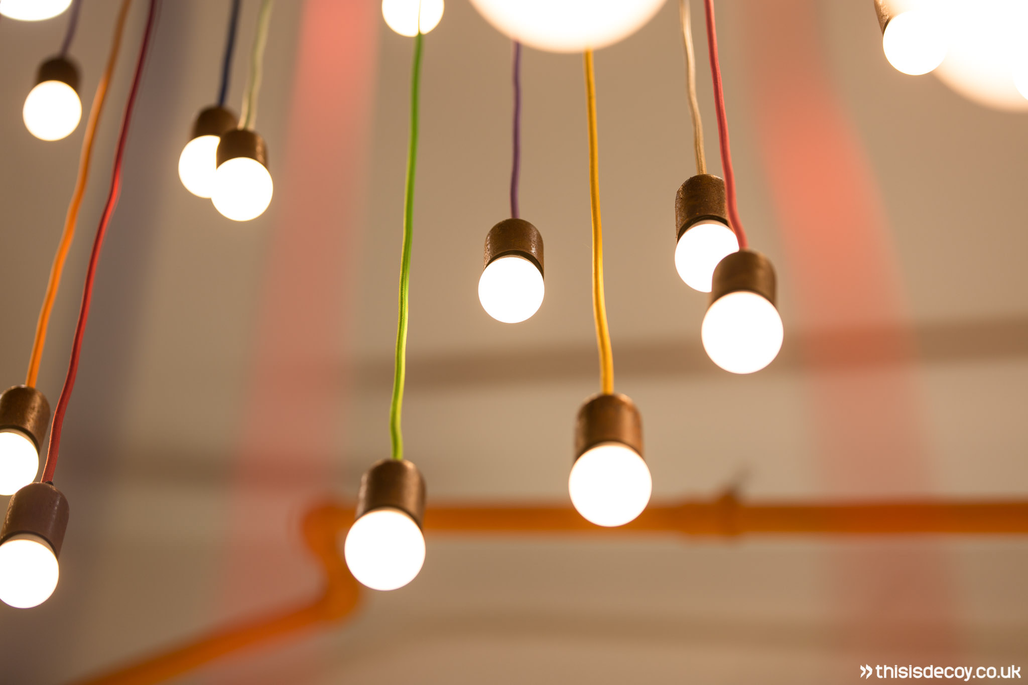detail of light fixtures