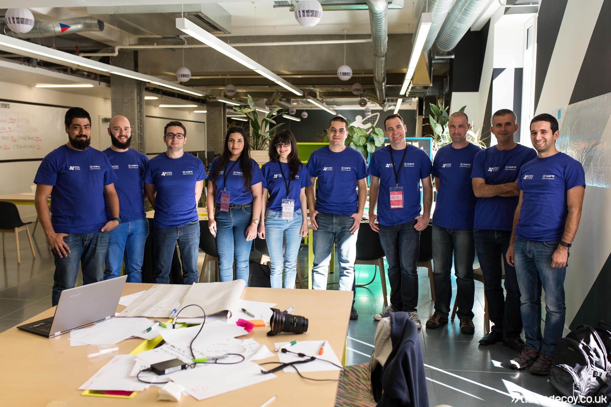 company team photo