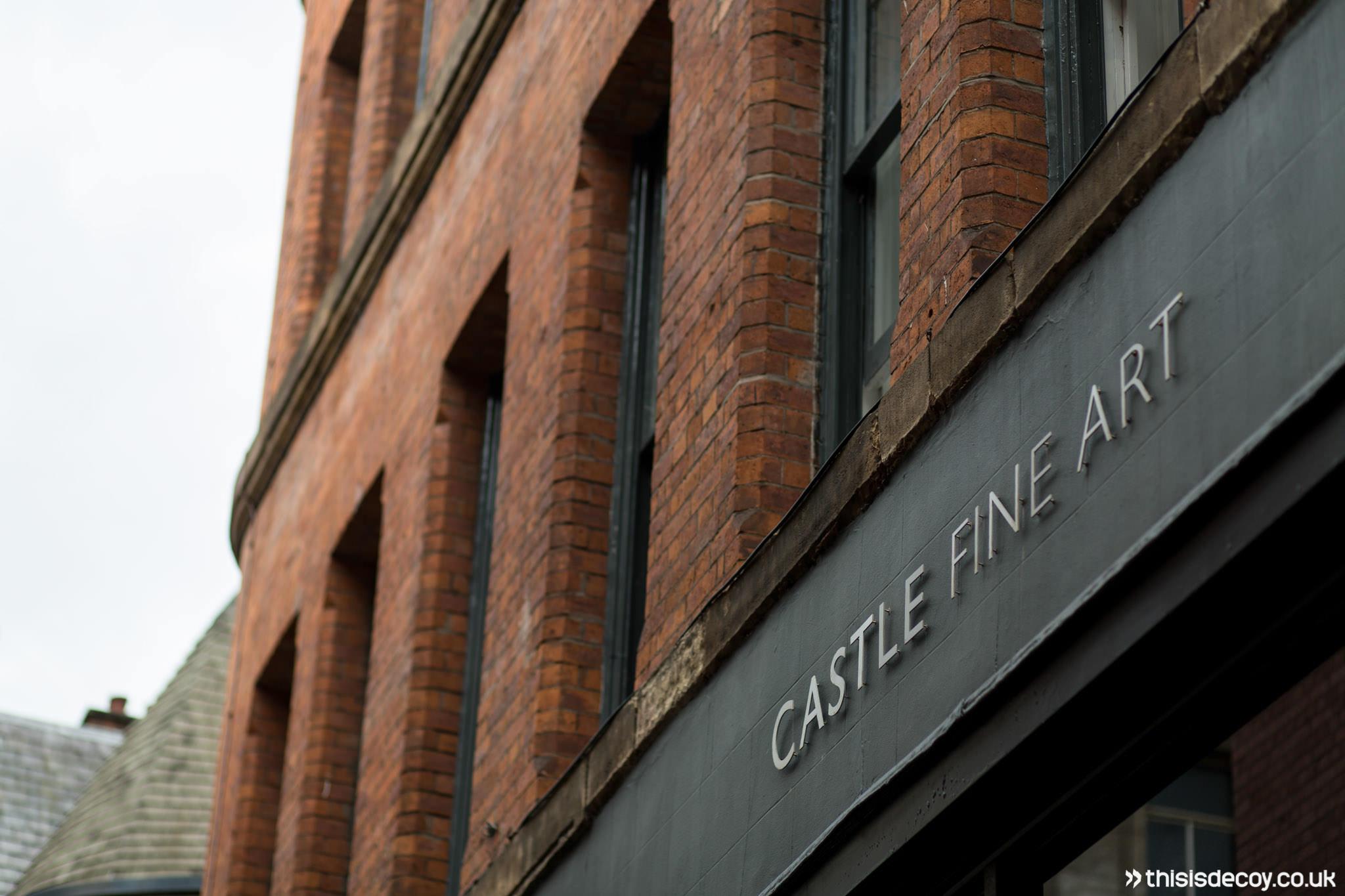 castle fine art manchester