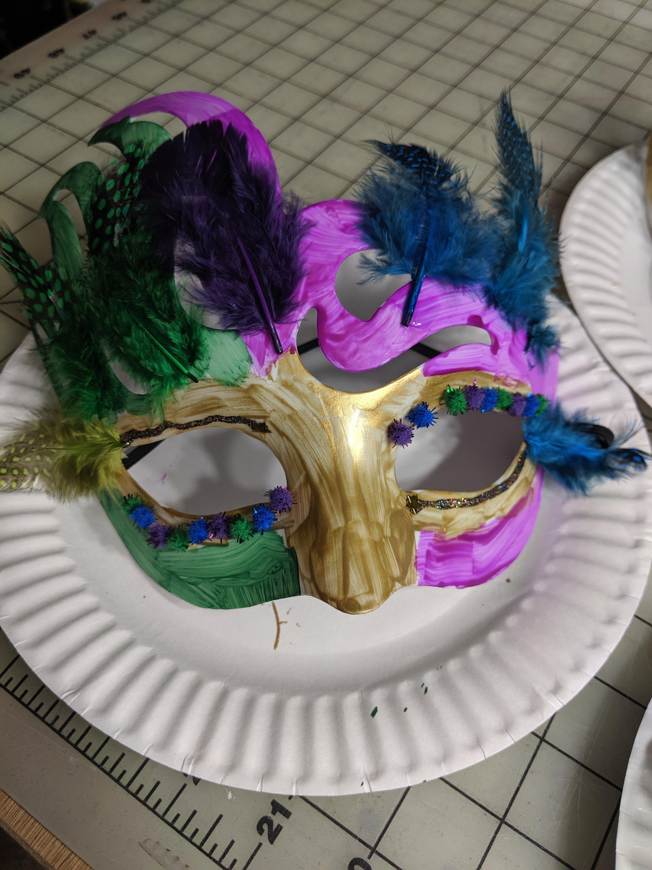 Mardi Gras Masks for Louisiana
