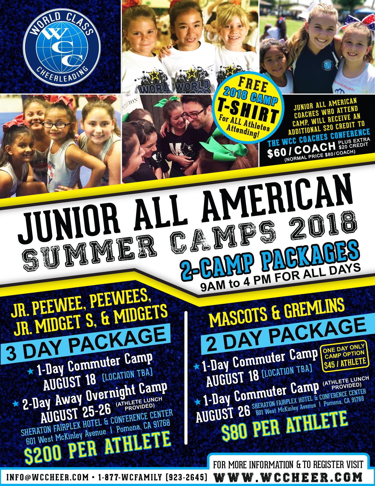 Jr. All American Camp 2018